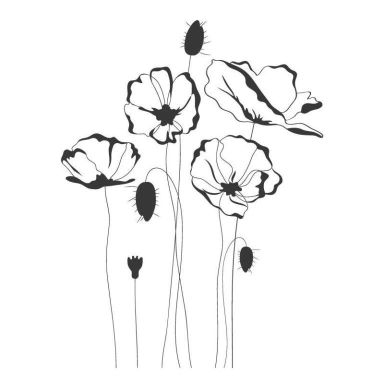 Ambadecor | Vinilos | Fotomurales | Vinilo floral Modelo 35-Vinilo monomérico autoadhesivo