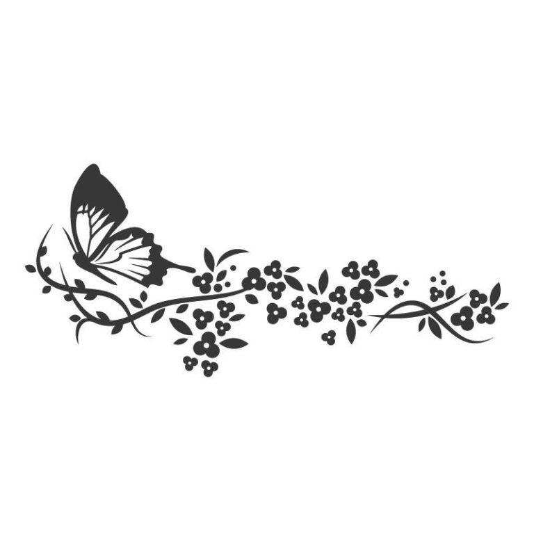 Ambadecor | Vinilos | Fotomurales | Vinilo floral Modelo 36-Vinilo monomérico autoadhesivo