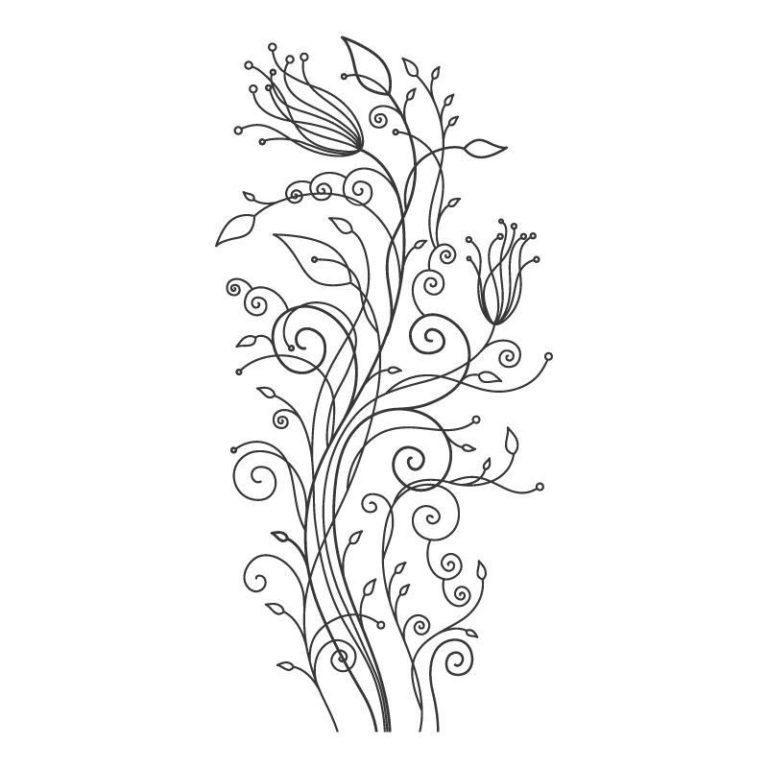Ambadecor | Vinilos | Fotomurales | Vinilo floral Modelo 37-Vinilo monomérico autoadhesivo