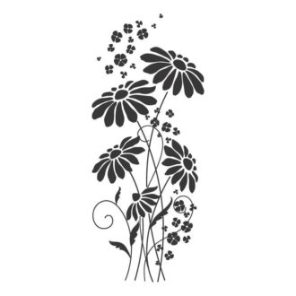 Ambadecor | Vinilos | Fotomurales | Vinilo floral Modelo 45-Vinilo monomérico autoadhesivo