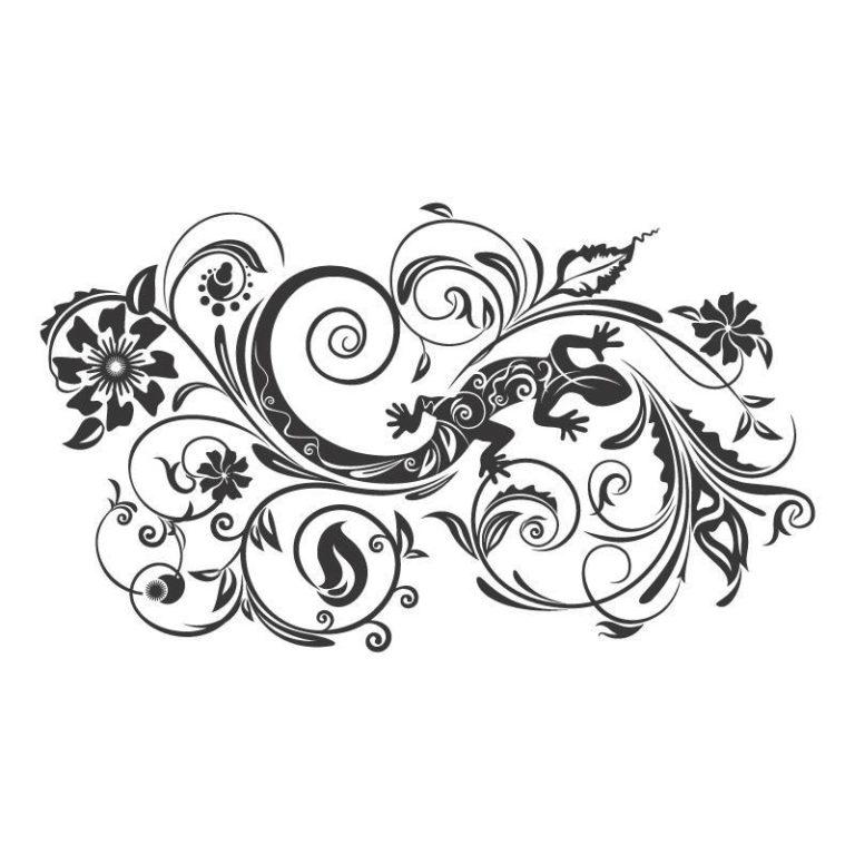 Ambadecor | Vinilos | Fotomurales | Vinilo floral Modelo 47-Vinilo monomérico autoadhesivo