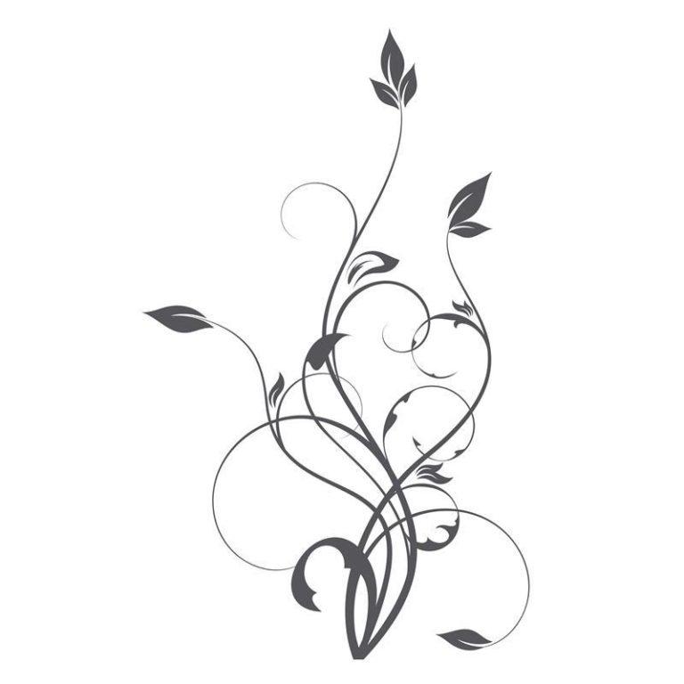 Ambadecor | Vinilos | Fotomurales | Vinilo floral Modelo 53-Vinilo monomérico autoadhesivo