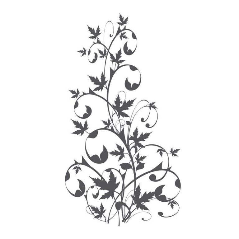 Ambadecor | Vinilos | Fotomurales | Vinilo floral Modelo 54-Vinilo monomérico autoadhesivo