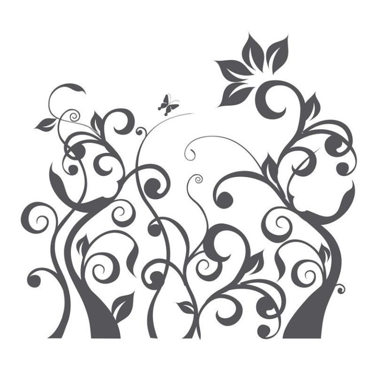 Ambadecor | Vinilos | Fotomurales | Vinilo floral Modelo 55-Vinilo monomérico autoadhesivo