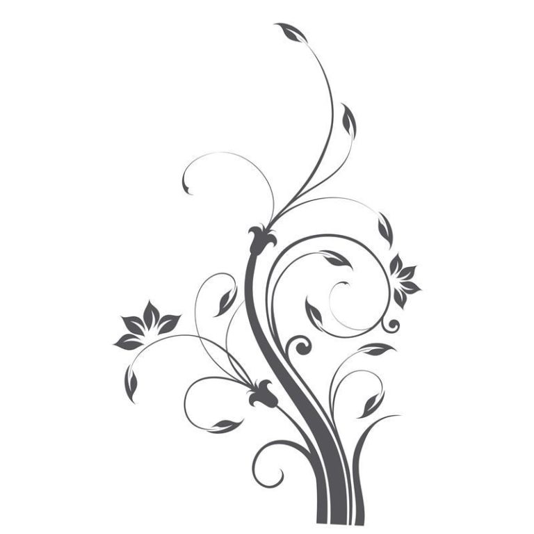 Ambadecor | Vinilos | Fotomurales | Vinilo floral Modelo 57-Vinilo monomérico autoadhesivo