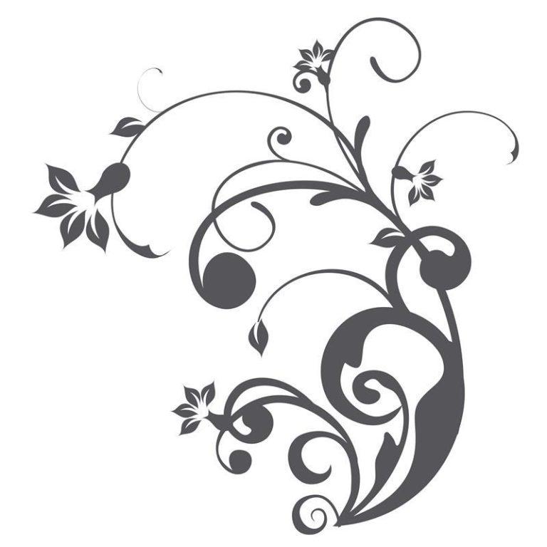 Ambadecor | Vinilos | Fotomurales | Vinilo floral Modelo 60-Vinilo monomérico autoadhesivo