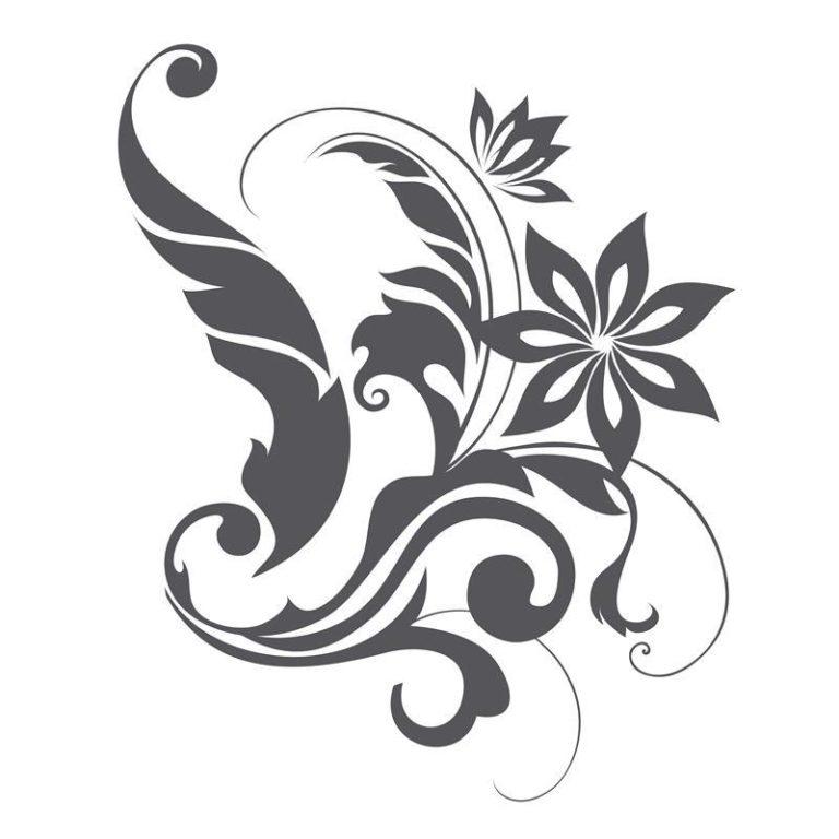 Ambadecor | Vinilos | Fotomurales | Vinilo floral Modelo 61-Vinilo monomérico autoadhesivo
