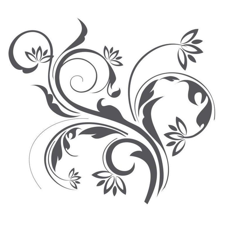 Ambadecor | Vinilos | Fotomurales | Vinilo floral Modelo 66-Vinilo monomérico autoadhesivo