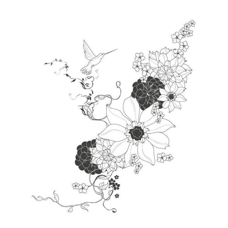 Ambadecor | Vinilos | Fotomurales | Vinilo floral Modelo 8-Vinilo monomérico autoadhesivo