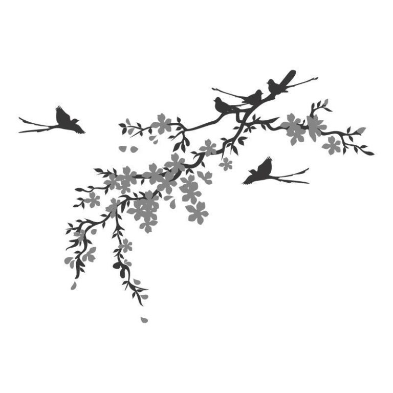 Ambadecor | Vinilos | Fotomurales | Vinilo floral Modelo 86-Vinilo monomérico autoadhesivo