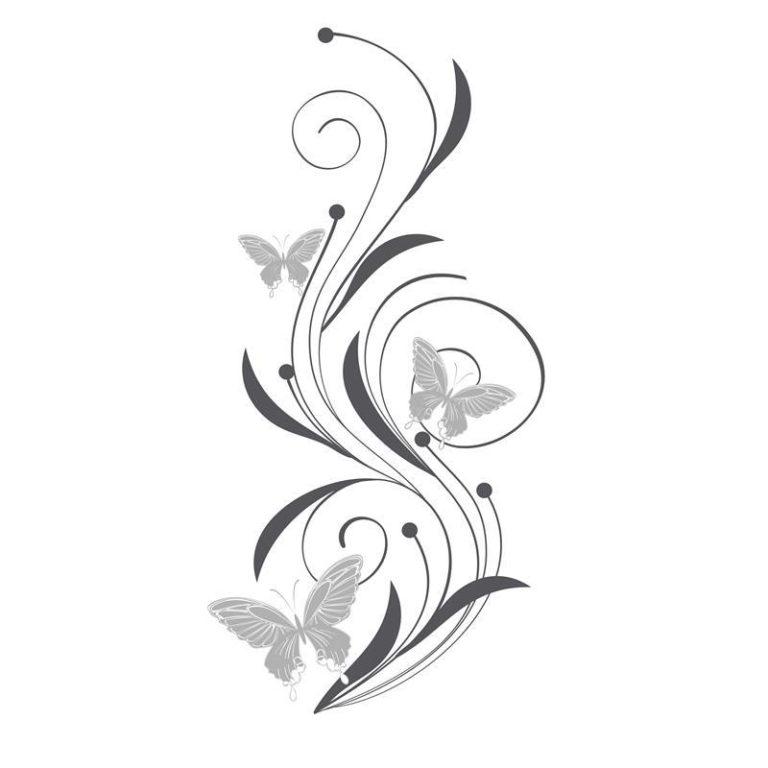 Ambadecor | Vinilos | Fotomurales | Vinilo floral Modelo 89-Vinilo monomérico autoadhesivo