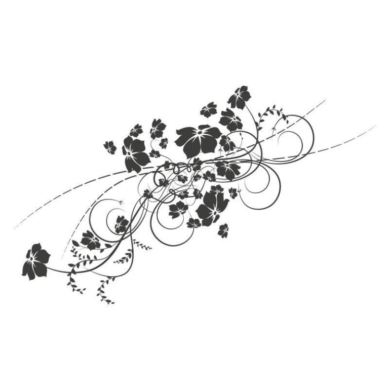 Ambadecor | Vinilos | Fotomurales | Vinilo floral Modelo 9-Vinilo monomérico autoadhesivo