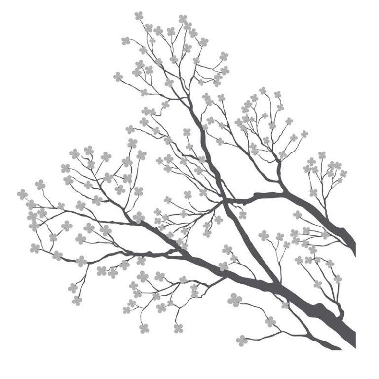 Ambadecor | Vinilos | Fotomurales | Vinilo floral Modelo 90-Vinilo monomérico autoadhesivo