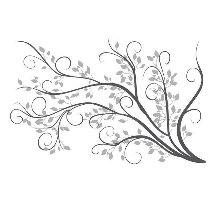 Ambadecor | Vinilos | Fotomurales | Vinilo floral Modelo 91-Vinilo monomérico autoadhesivo