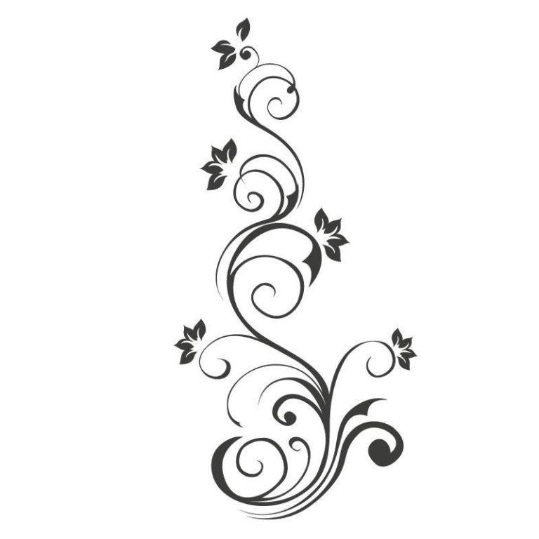 Ambadecor | Vinilos | Fotomurales | Vinilo floral Modelo 94-Vinilo monomérico autoadhesivo