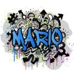 Vinilo graffitti Modelo 16